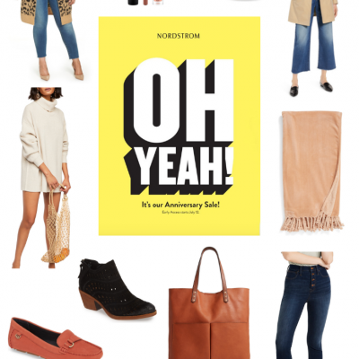 It's July and that means it's time to grab a few of your favorite brands at discount prices. Yep - the Nordstrom Anniversary Sale is officially here!