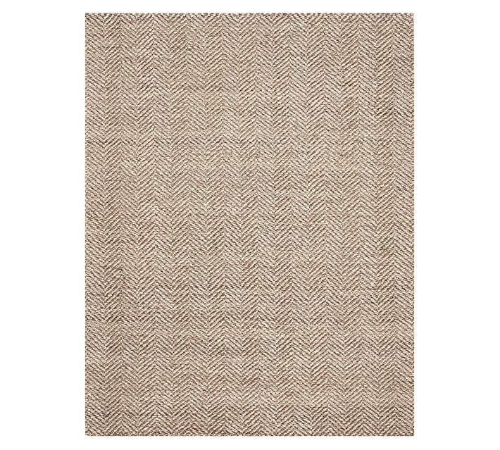 chevron wool jute rug at a fantastic price