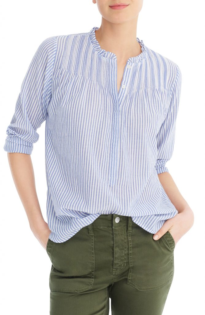 Classic Stripe Popover Shirt