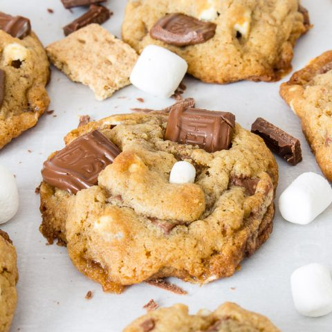 Summer is s'more fun with sweet treats! But don't worry, no campfire is needed to enjoy these gooey s'mores cookies.