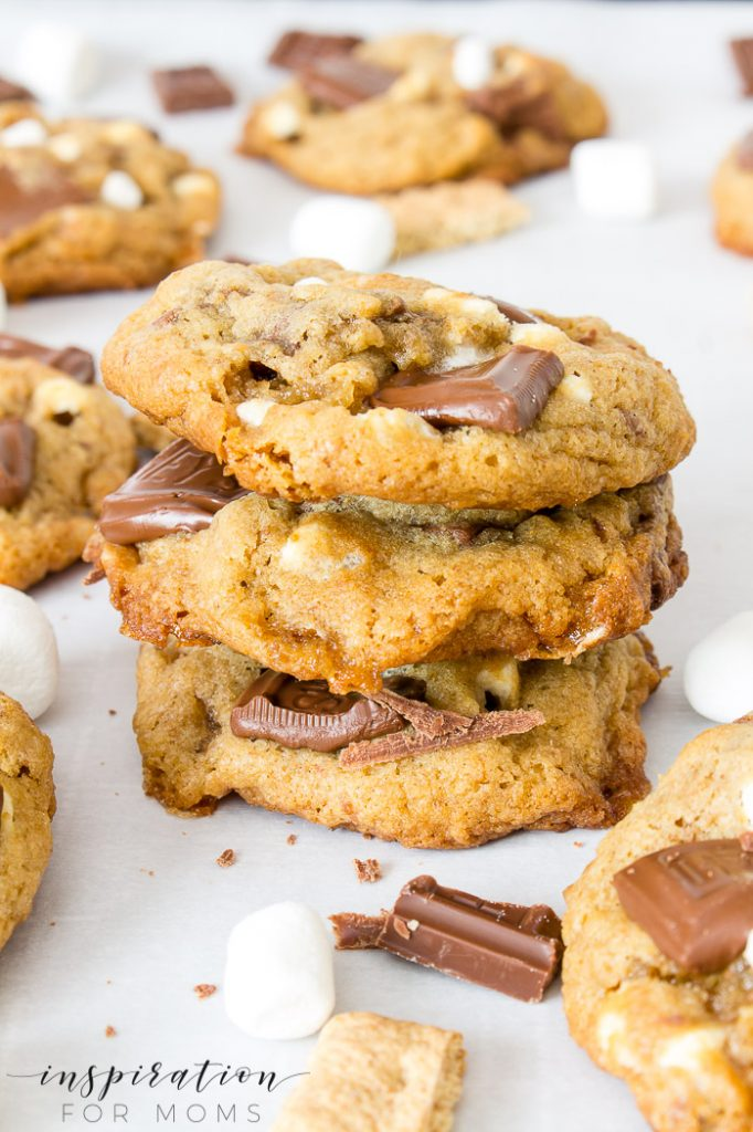 stacked s'mores cookies recipe
