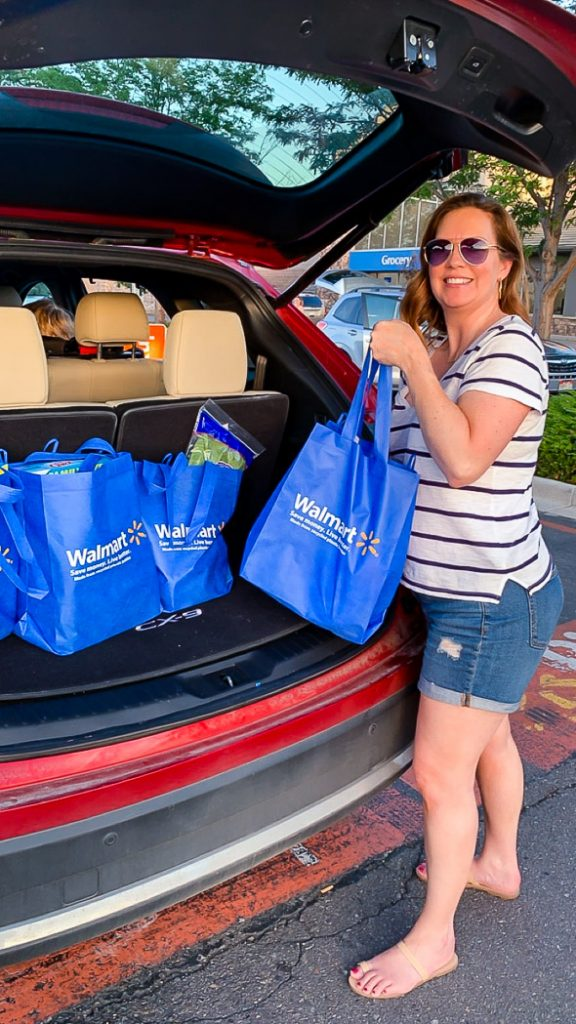 When this mom's got a busy week ahead and not enough time to plan, Walmart's Grocery Pickup has stepped up and saved the day!