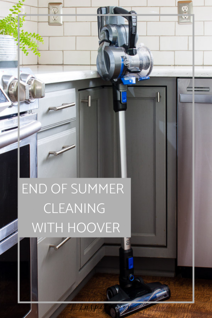 Back to school time has arrived and so the end of the summer cleaning begins. Learn how I cleaned up my house fast with new Hoover ONEPWR products!