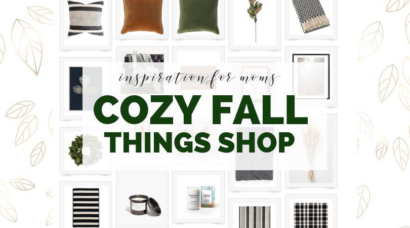 cozy fall things shop