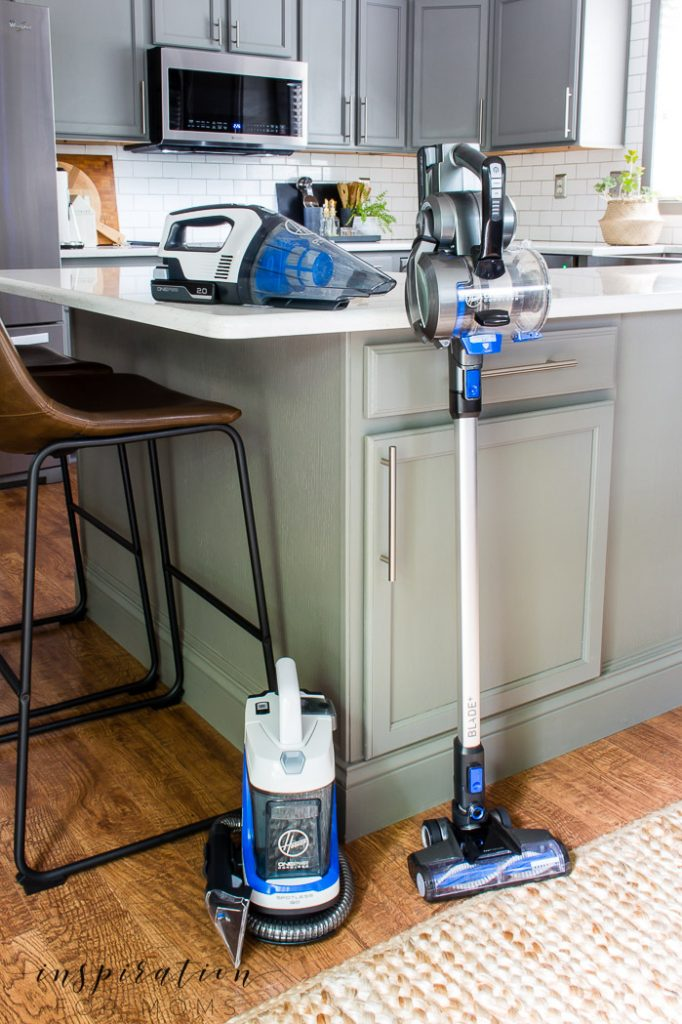 summer cleaning with Hoover ONEPWR tools
