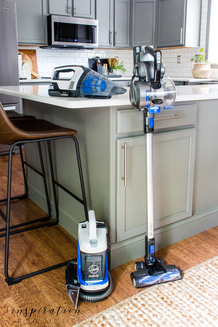 End of Summer Cleaning with Hoover