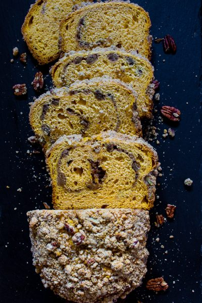Welcome the new season with a delicious fall brioche. This brightly colored bread is sure to be favorite in your home!
