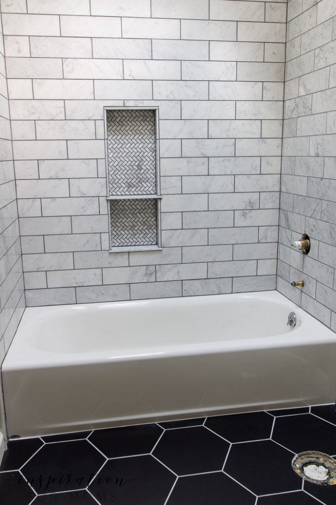 Before your next bathroom renovation, check out my bathroom tile tips. They'll save you time and money and help you achieve the bathroom of your dreams!