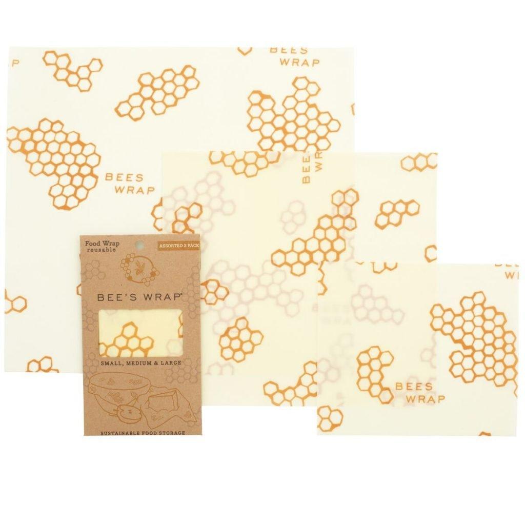 bees wrap beeswax reusable food wraps
