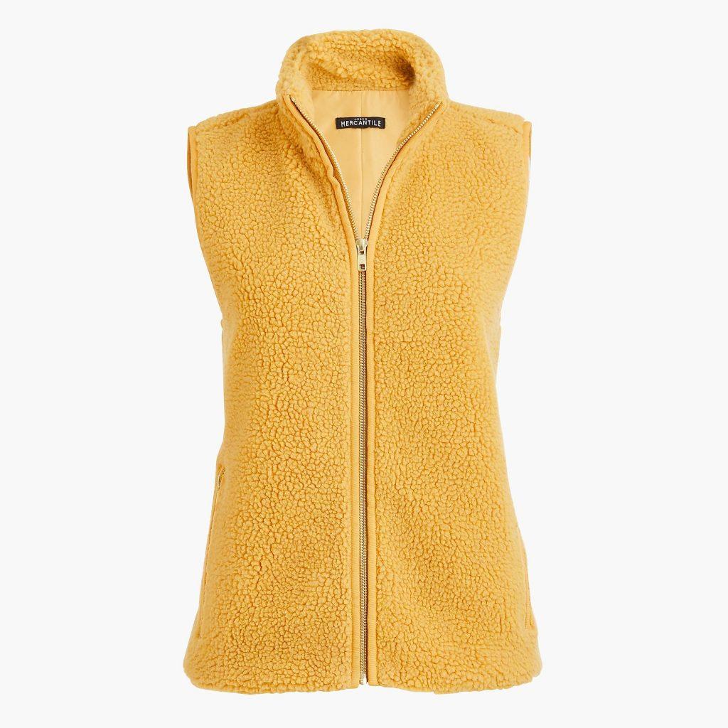 teddy bear fleece vest