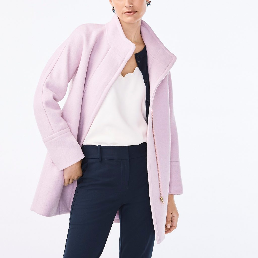 new city coat, comes in six colors and is on sale