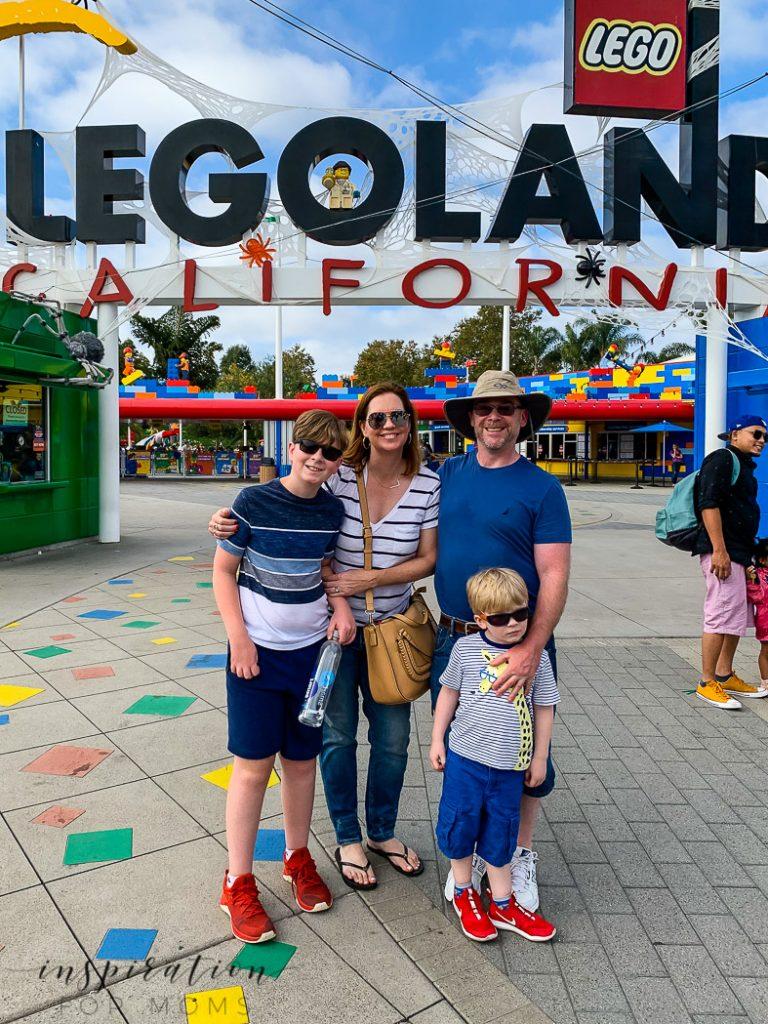 San Diego family vacation Legoland