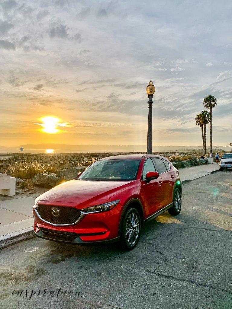 Mazda cx-5 at Coronado Beach San Diego