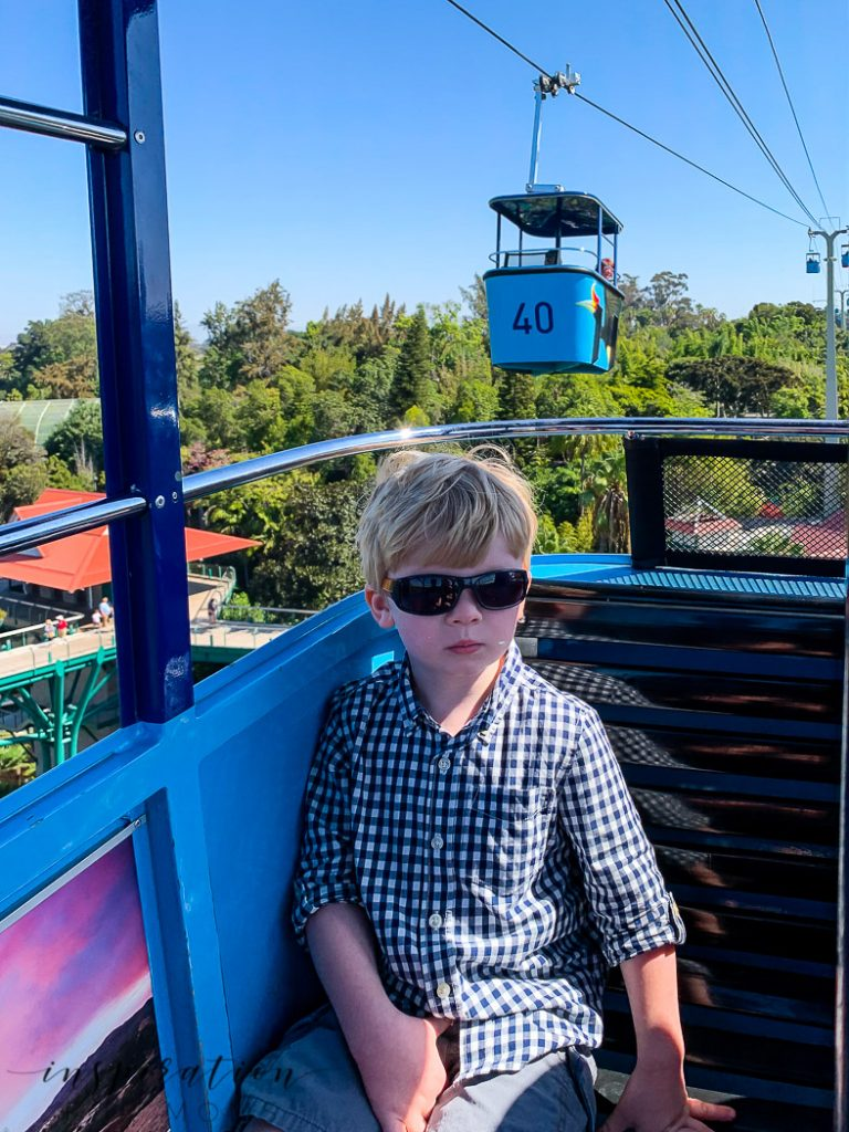 San Diego family vacation to the zoo