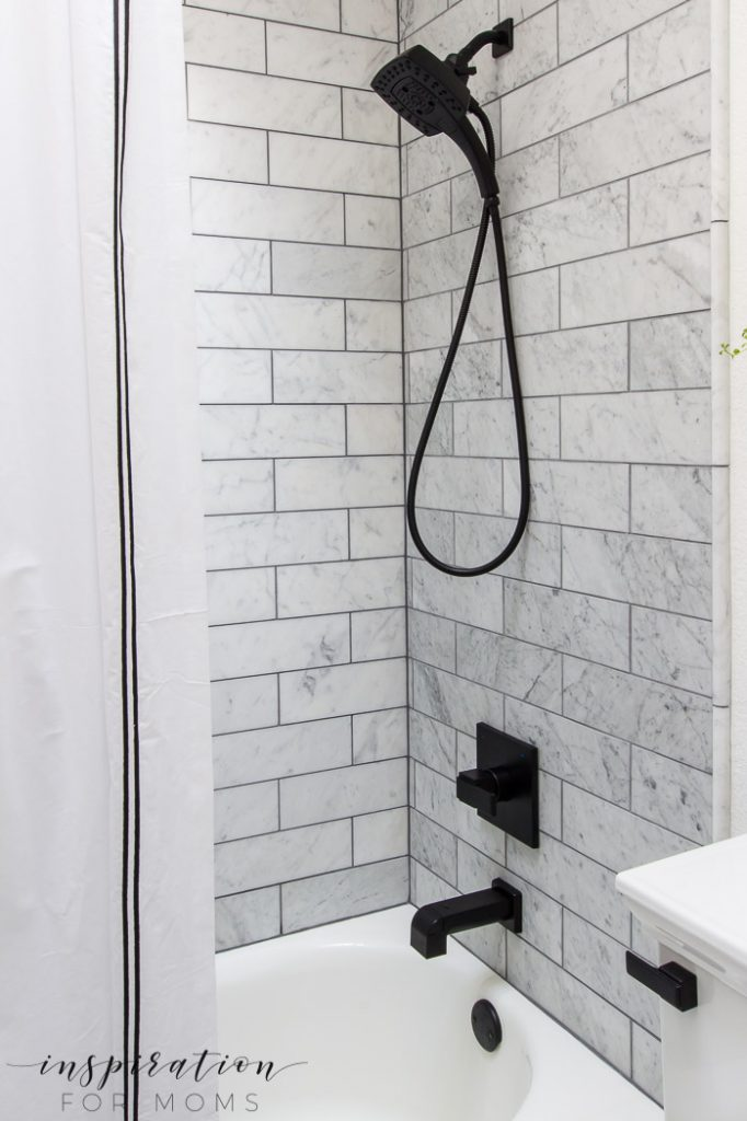 An outdated bathroom gets a new look with modern fixtures from the Delta faucet brands. You won't believe the transformation!
