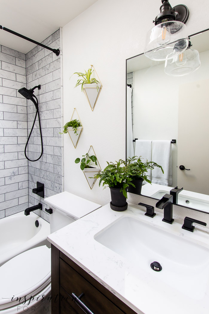 Bathroom Remodel with Modern Fixtures from Delta