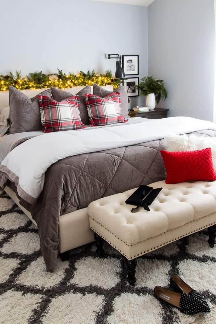 Christmas Bedroom Home Tour 2019