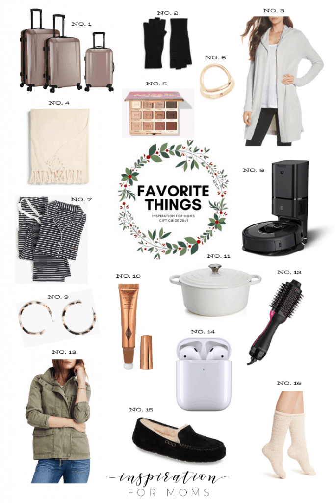 Today I'm sharing a few of my favorite things that I enjoy and think you may as well! Check out my list and get something for yourself or family! #giftguide