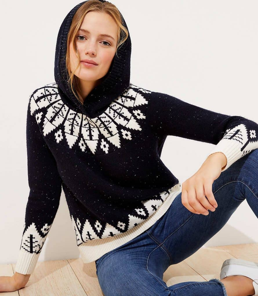 Failisle Hooded Sweater - so cute for winter!