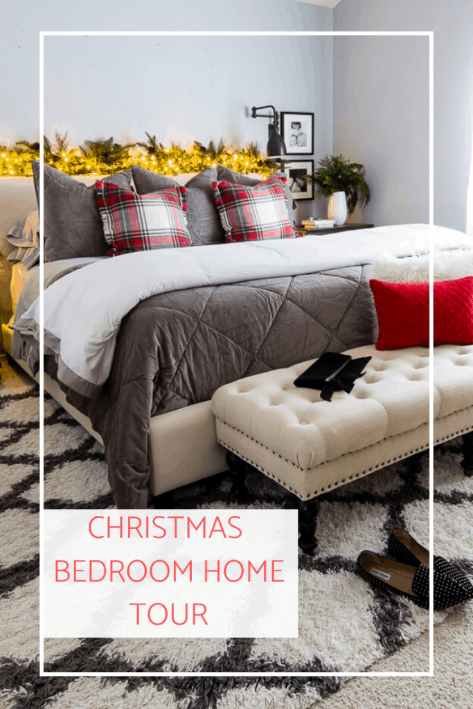 Come see our Christmas Bedroom Home tour and get simple ideas on how to add that little extra twinkle to your bedroom.