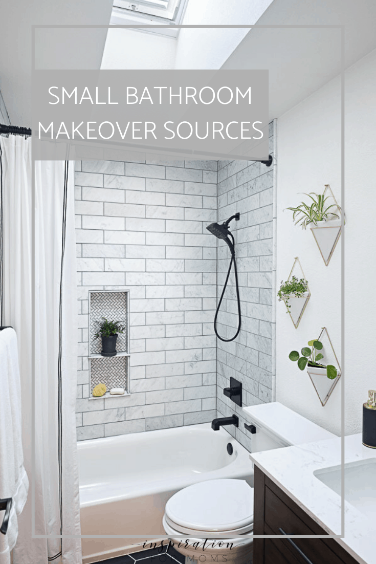 My Modern Small Bathroom Makeover Sources