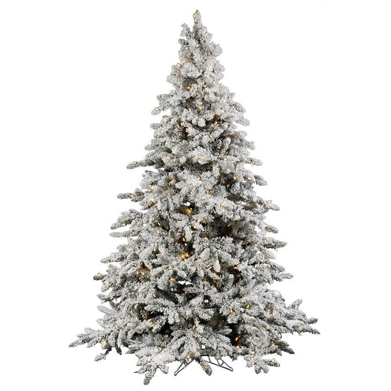 white fir artificial Christmas tree