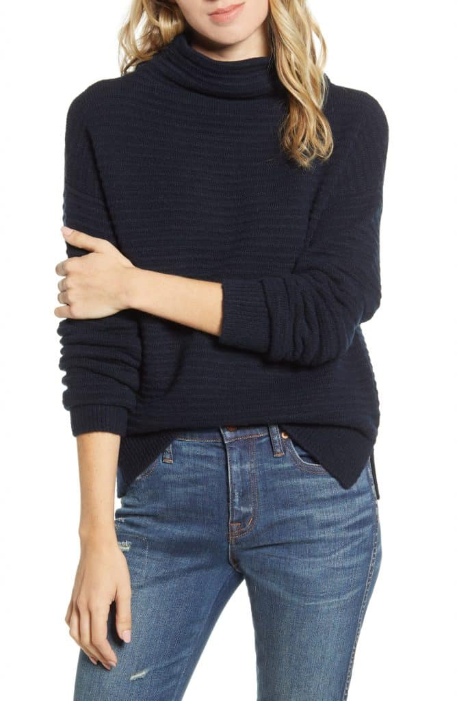 belmont mock neck sweater - so soft and great price