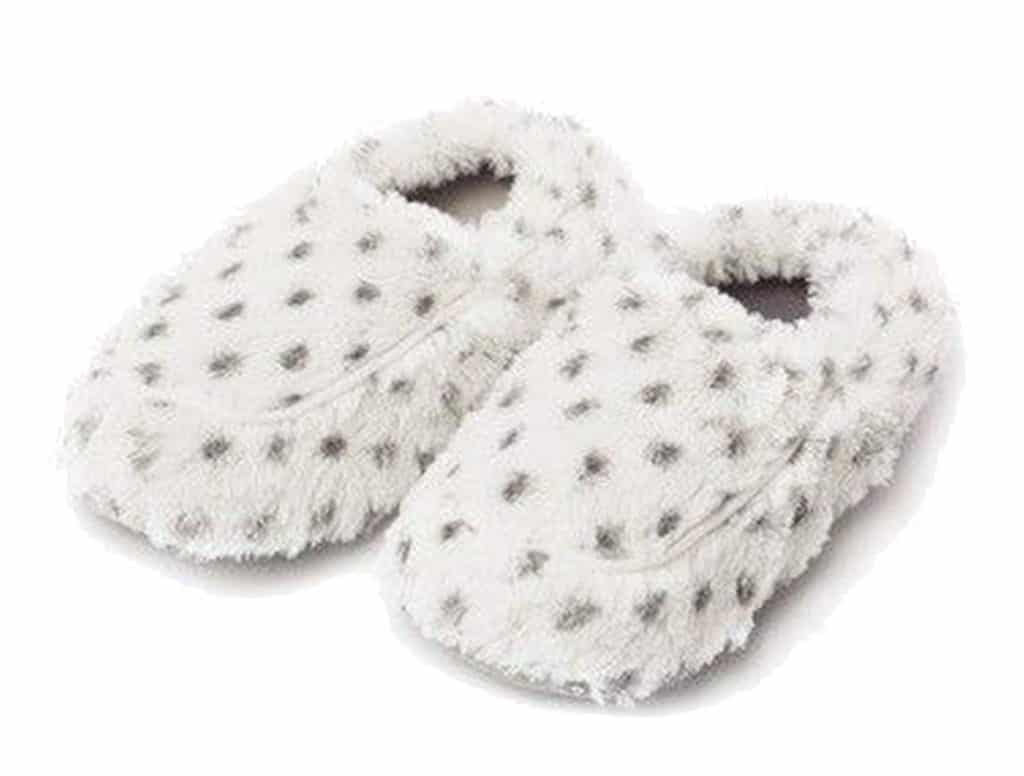 microwavable cozy slippers - great for this winter