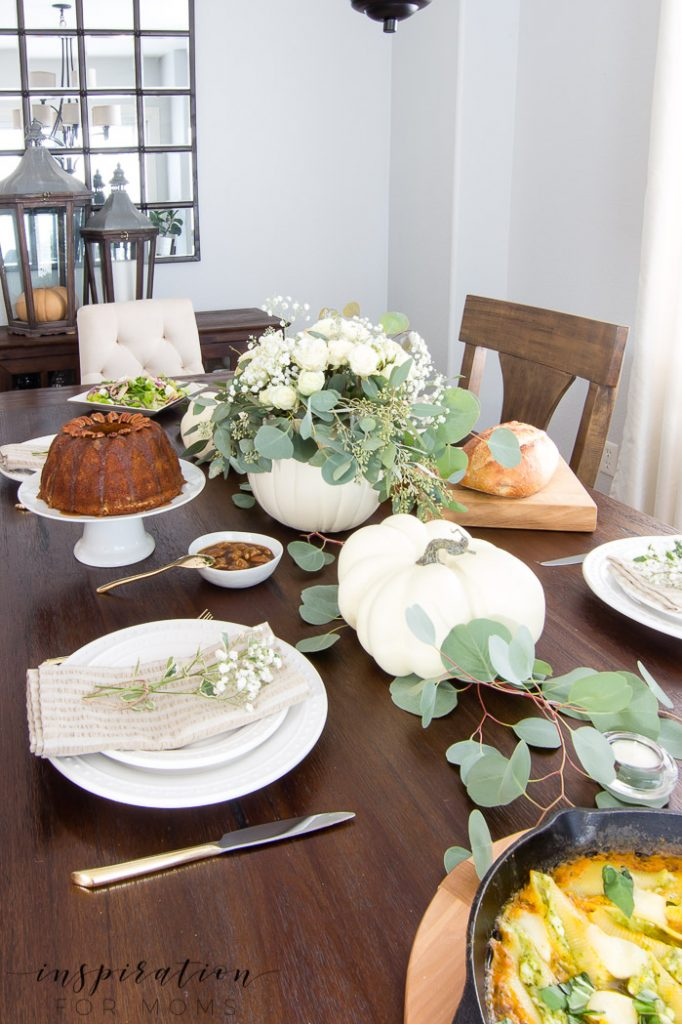 Invite your friends over for a fabulous fall dinner party menu full of delicious recipes all featuring cheese. All together, it's one scrumptious menu!