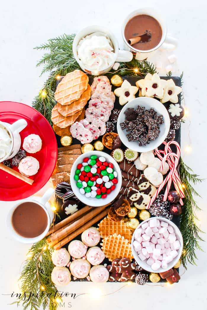 Cookie and Chocolate Dessert Charcuterie Board