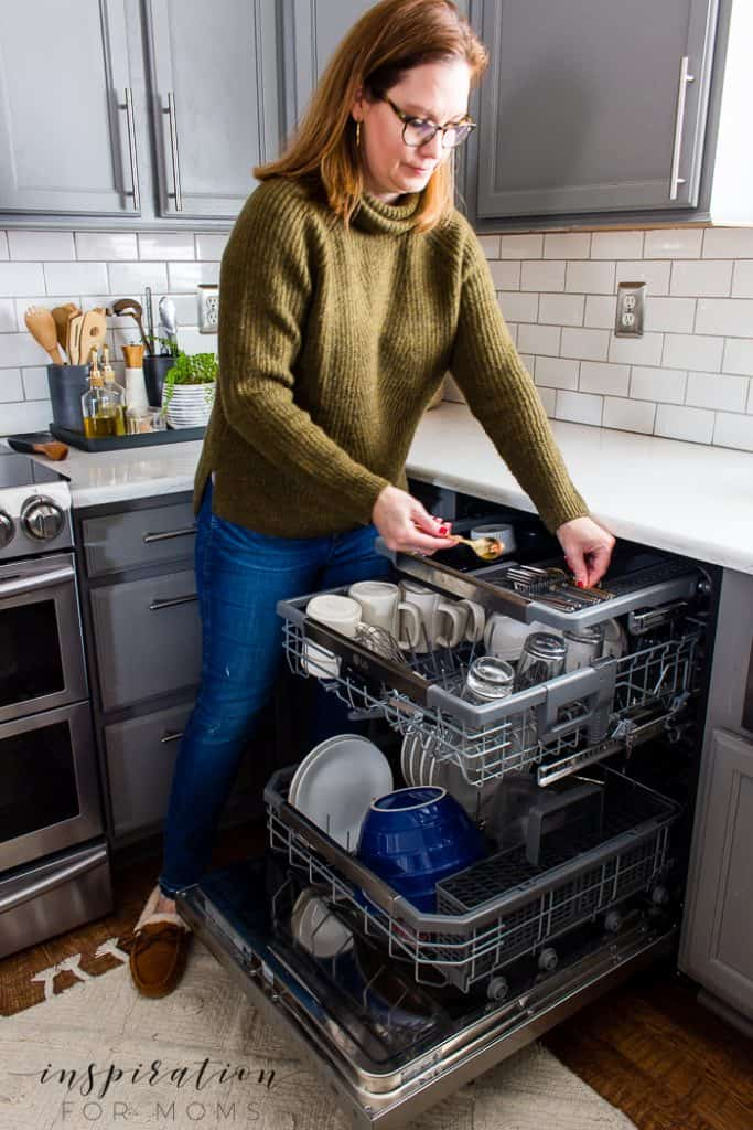 Dinner time has taken on a new look in our home. We've now doing more eating and less cleaning thanks to our new LG Dishwasher! #LGDishwashers