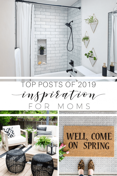 Top 10 Posts of 2019 at Inspiration for Moms