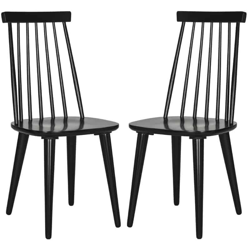 Britt Solid Wood Spindle Dining Chairs