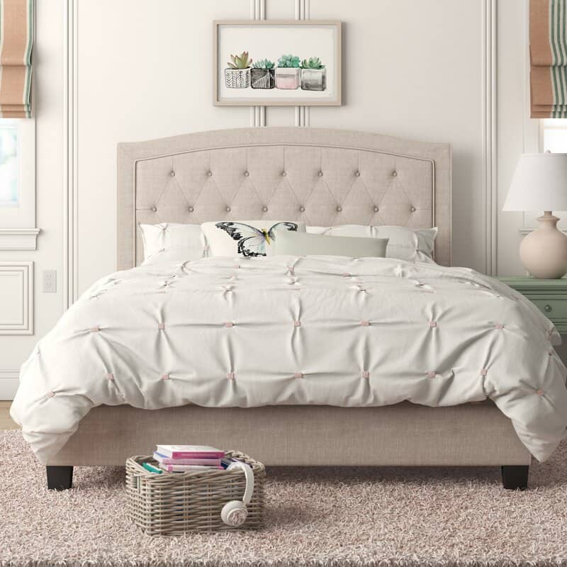 Pascal Upholstered Bed - on sale at a great price!