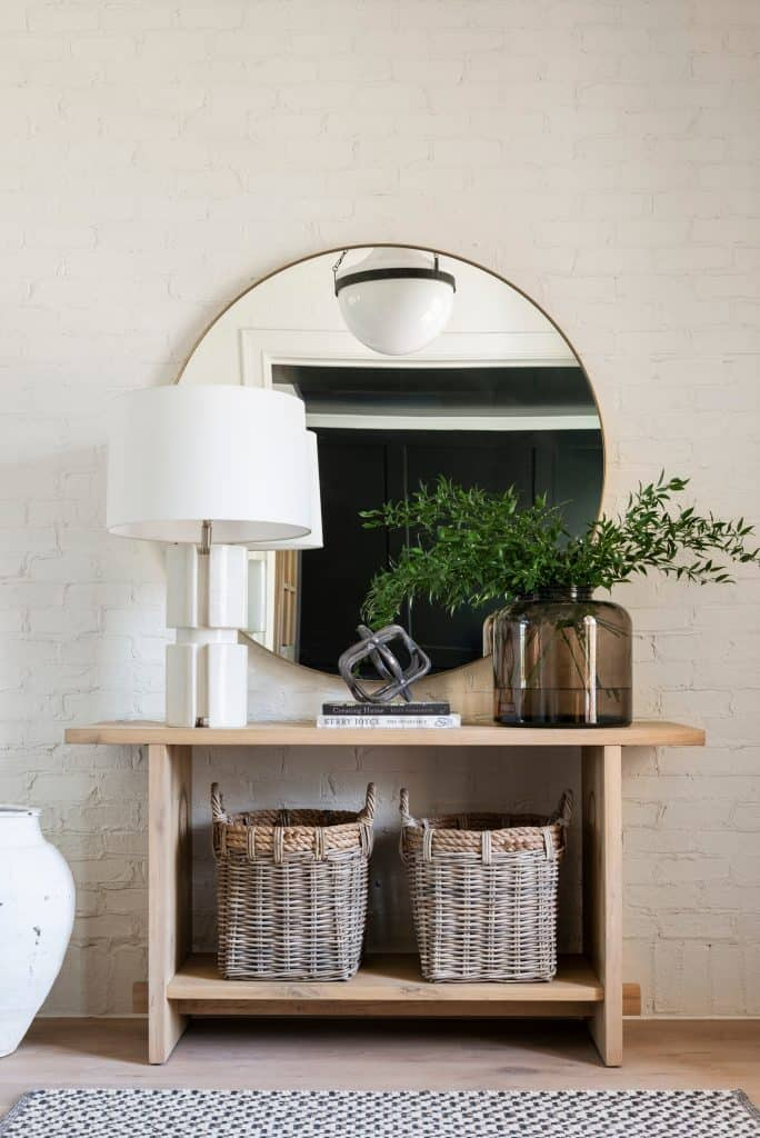Keep your home tidy with creative storage ideas! I'm sharing tons of great options for smaller homes with limited storage space. #entrywaystorageideas