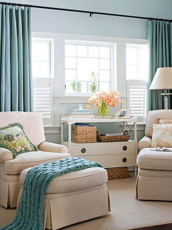 Keep your home tidy with creative storage ideas! I'm sharing tons of great options for smaller homes with limited storage space.#livingroomstorage