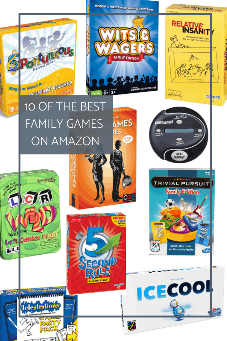 The Best Family Games on Amazon