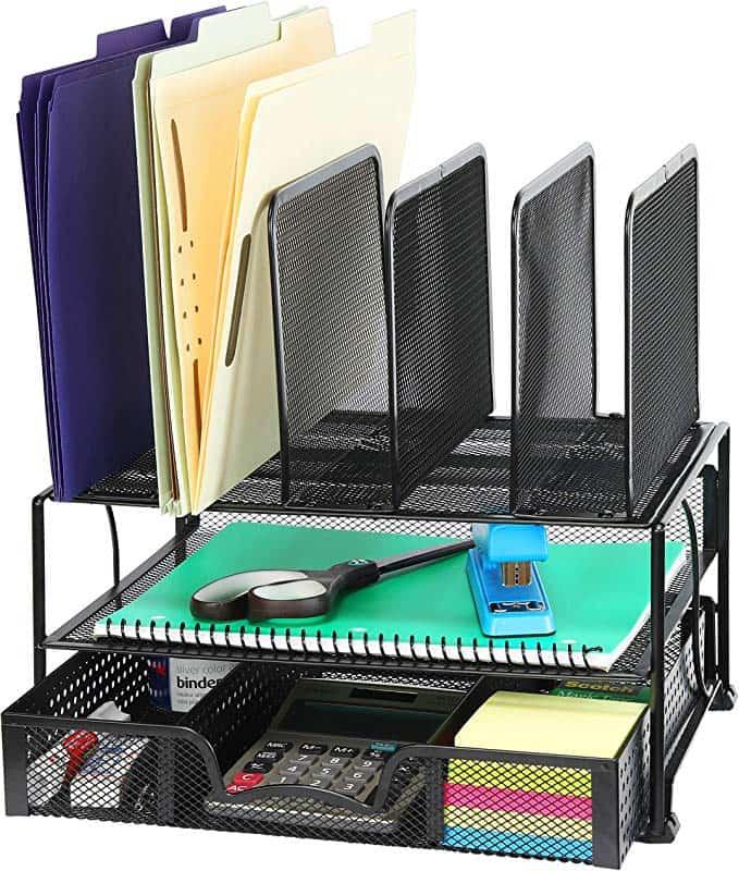 desk organizer with drawers