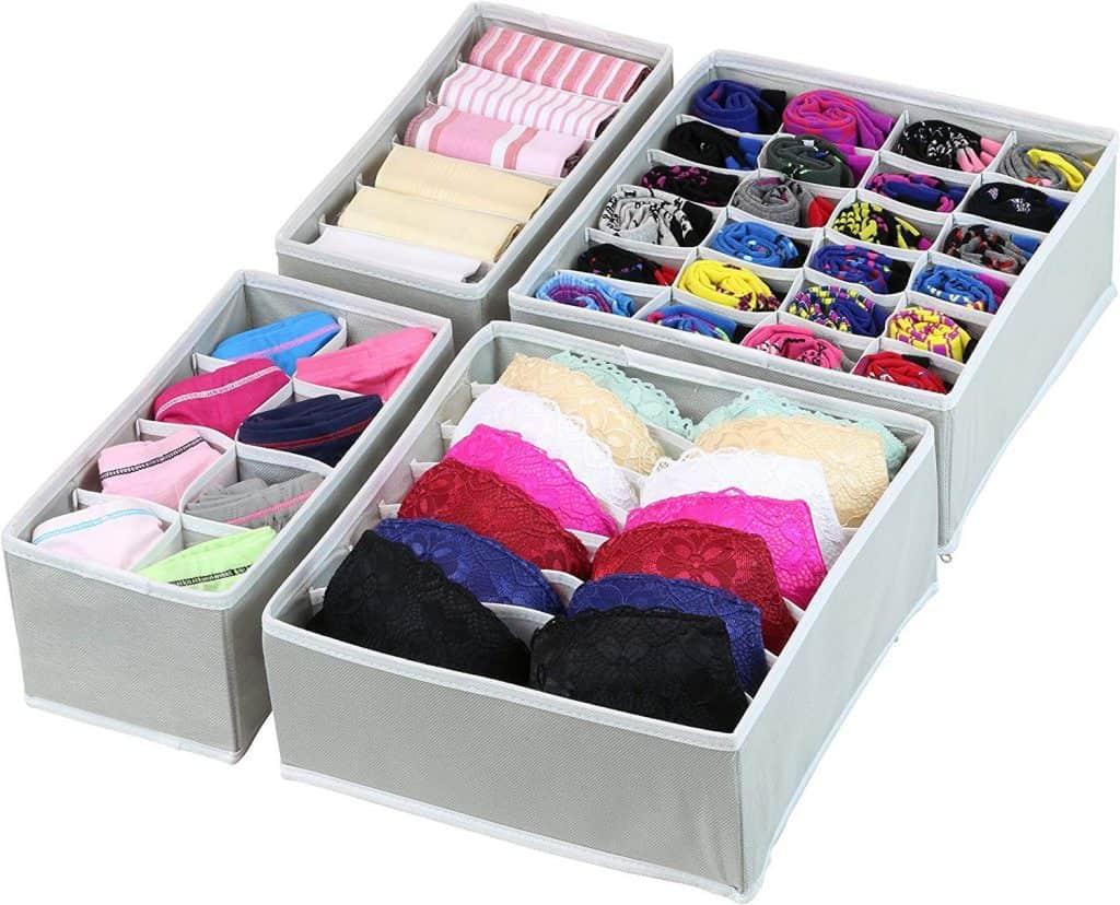 underwear organizer drawer divider