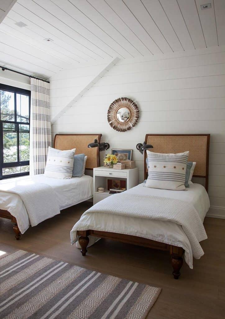 Ann Hepfer Curtain Drapes in Bedroom