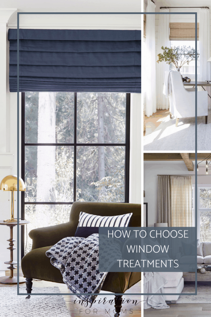 Window treatments can often be overlooked when it comes to decorating your home. Learn how to choose the best look for your home. #windowtreatments