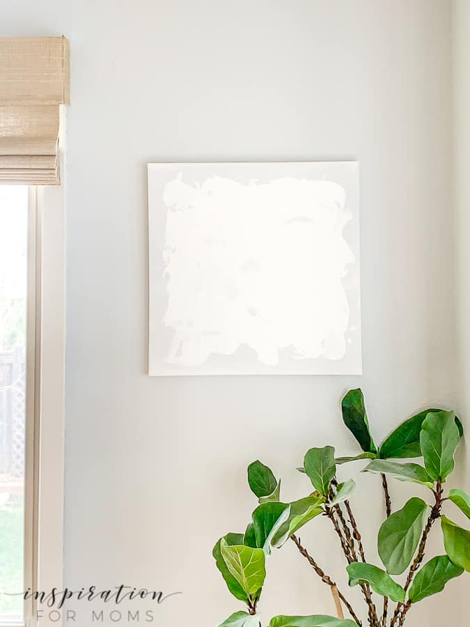 How to Create White Textured Abstract Art
