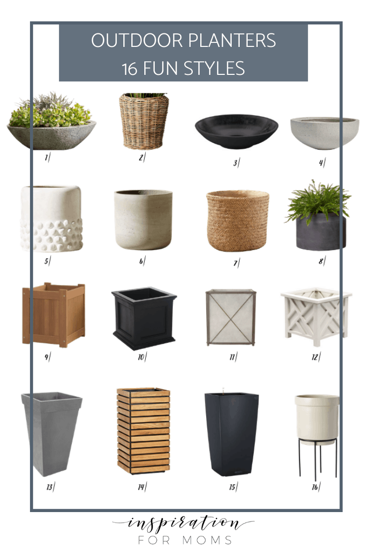 Outdoor Planters – Best Shapes and Styles