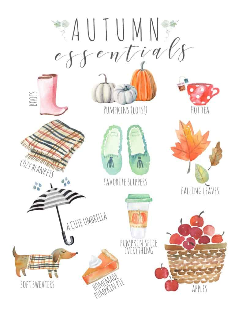 Here are some creative ways to incorporate fall decorating with art into your home decor! #falldecorating #fallart #fallprints #falldecor