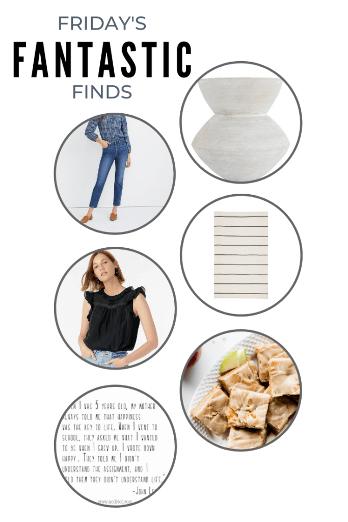 Welcome to another Friday's Fantastic Finds -- here's a little roundup of what caught my eye this week!#fridaysfinds #fantasticfinds