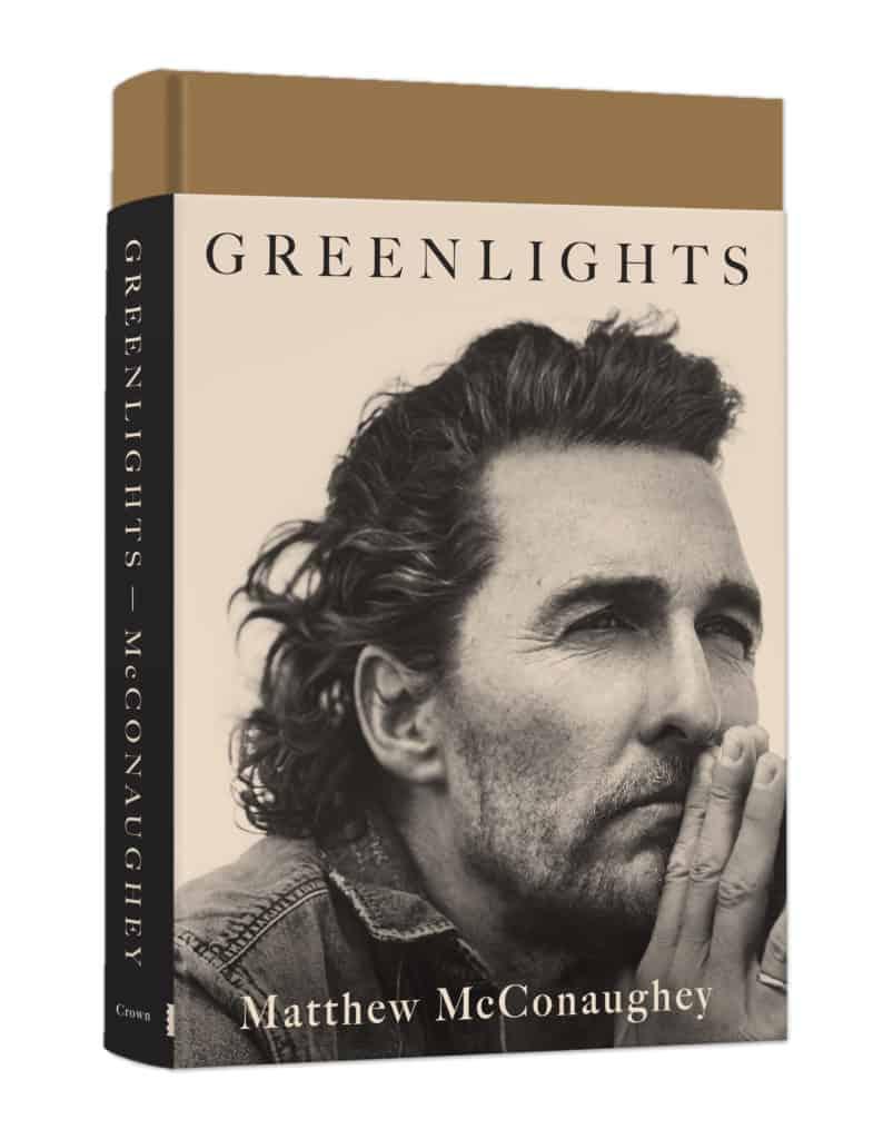 Greenlights book by Matthew McConaughey
