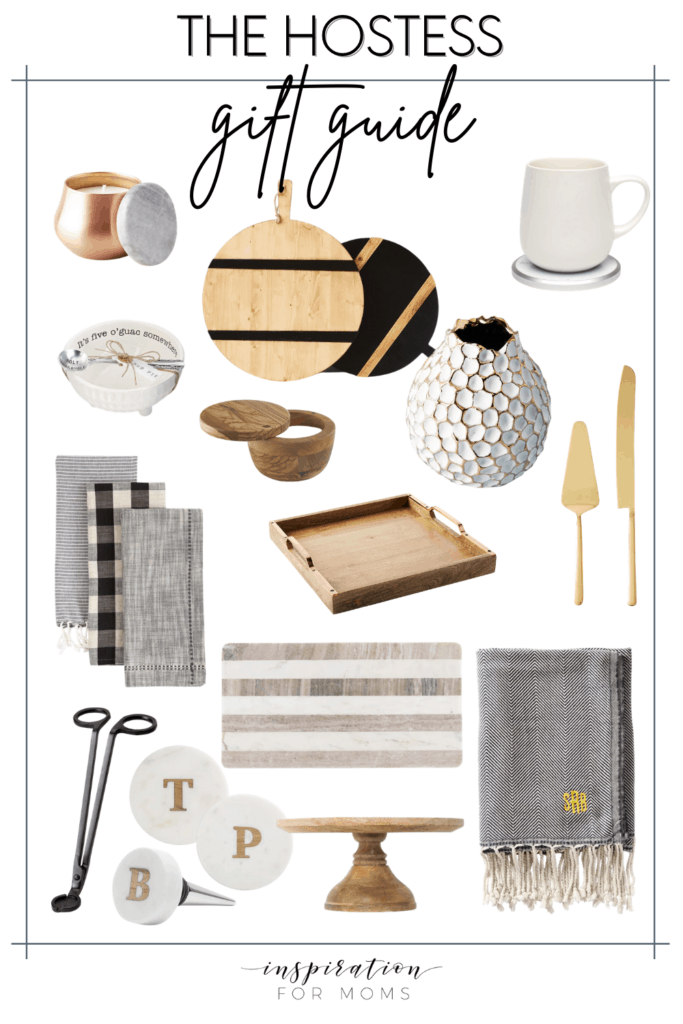 The holiday gatherings are approaching fast. So be prepared now with these fabulous gifts for the hostess! #giftsforhostess #hostessgiftideas