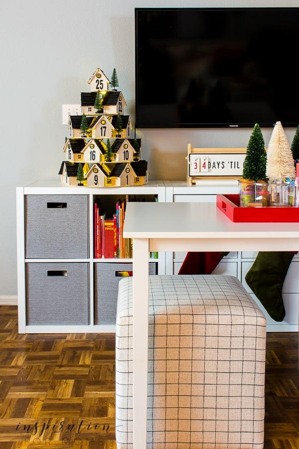 Christmas Art and Game Room