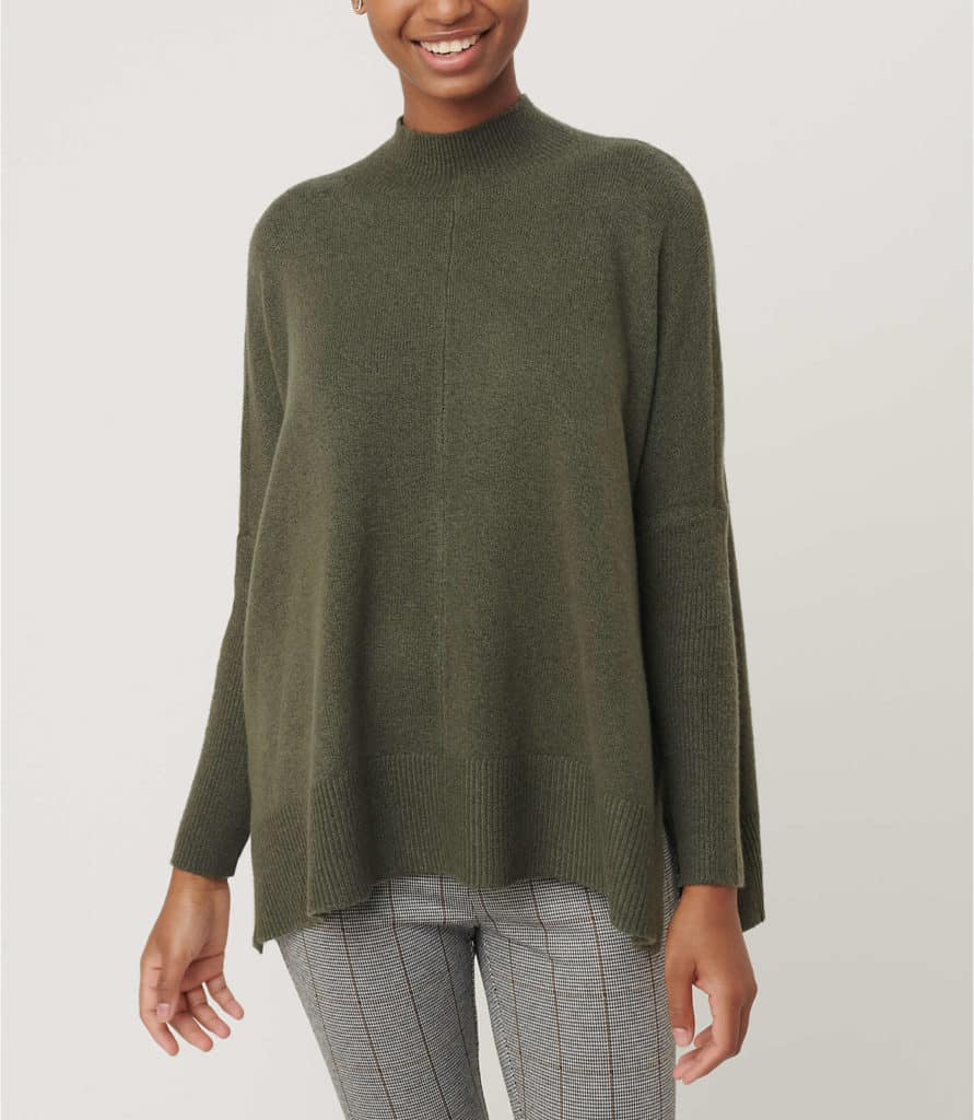 poncho sweater on sale