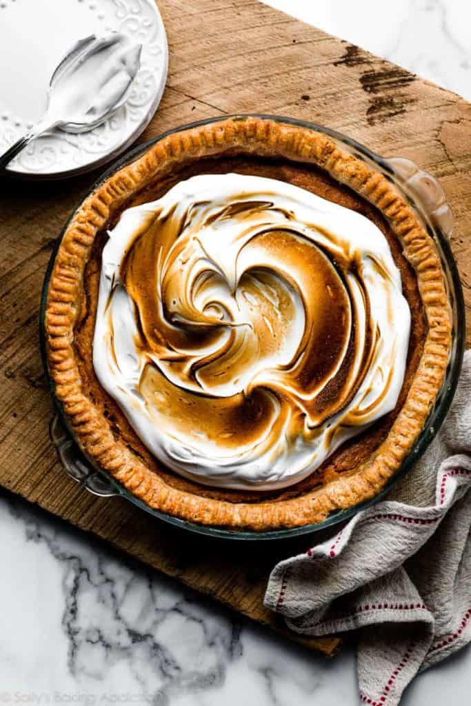 Bourbon Sweet Potato Pie